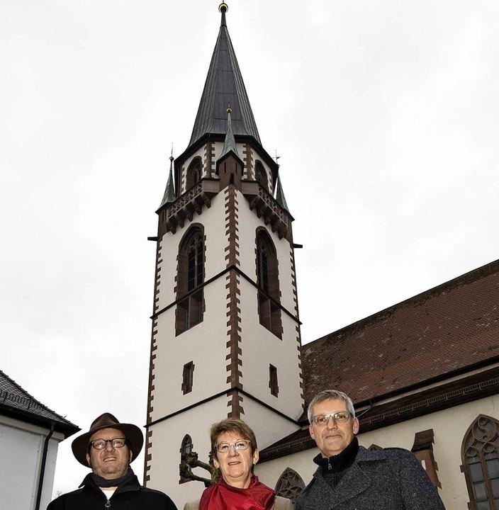 Der Turm der St. Bonifatius-Kirche in ...agement im Dekanat neu aufstellen muss    Foto: Markus Zimmermann