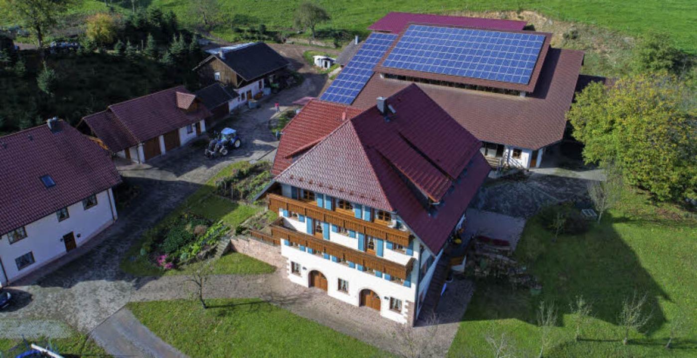 Auf dem Wanglerhof in Dörlinbach wird ...n. Auch die Nachfolge ist gesichert.    | Foto: Matthias Weniger