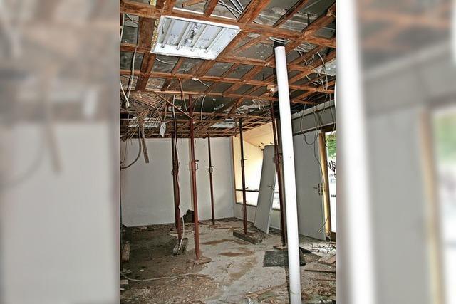 Schäden im Uehlin-Haus beträchtlich