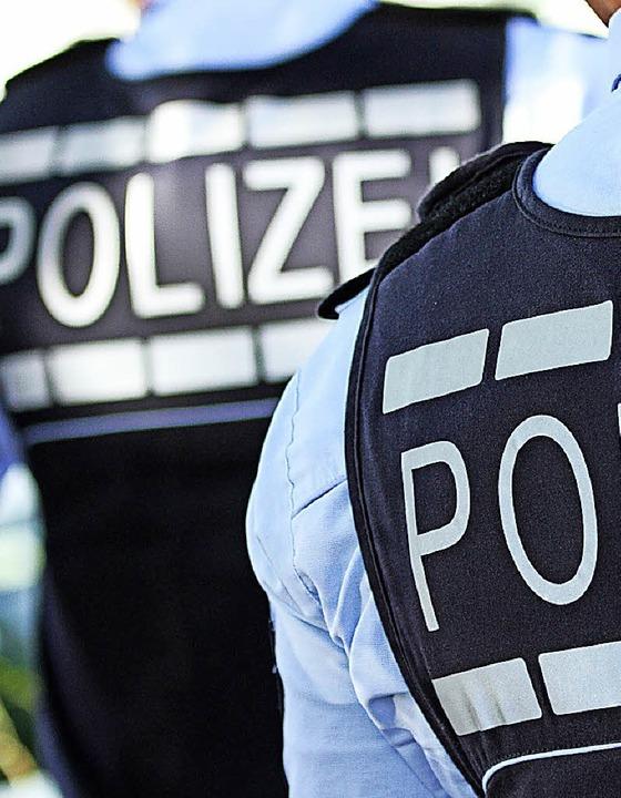 Polizei wirbt für ihren Beruf – auch in Schopfheim.    Foto: dpa (Stein)