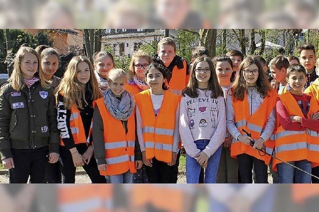 Bürger sorgen für eine saubere Stadt