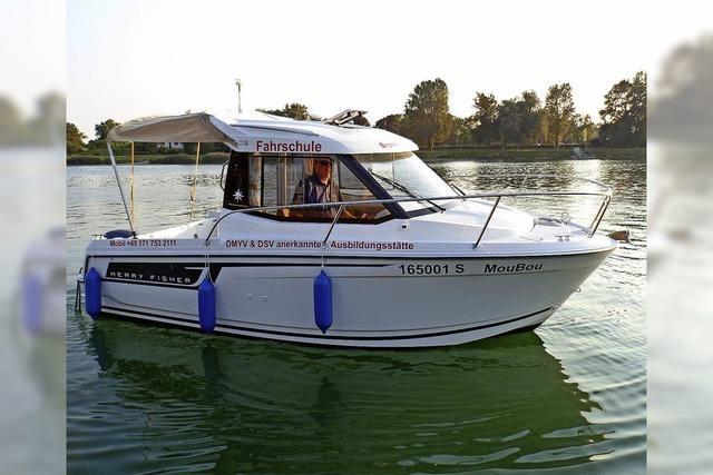 Segelschule Schluchsee erstmals auf der Boot