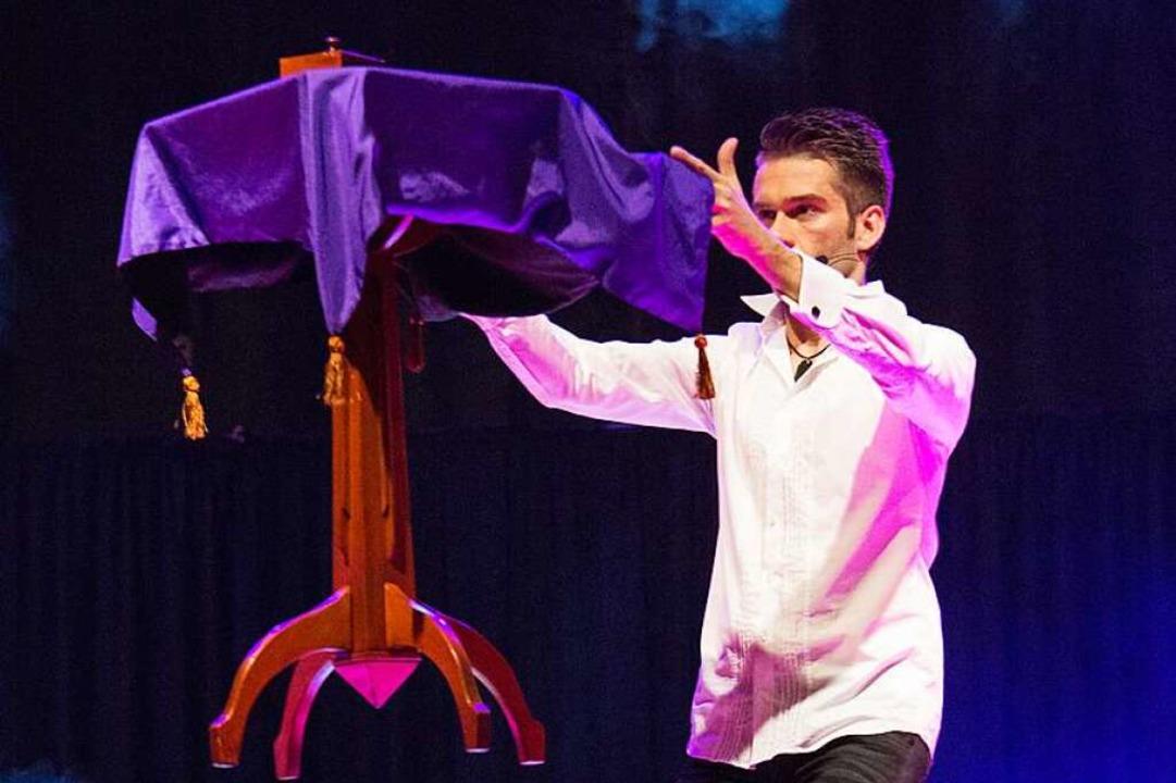 The Magic Man: Willi Auerbach  | Foto: Ralf Saurbier