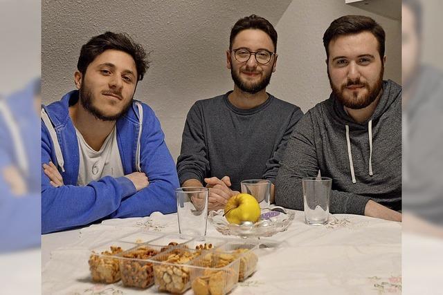 Drei junge Italiener verstärken das Rote Kreuz in Rheinfelden