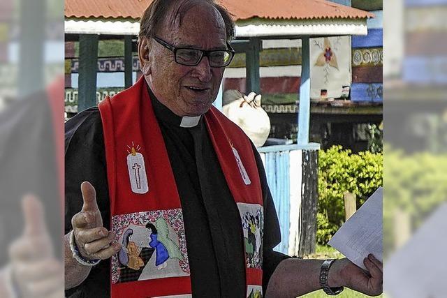 Verdienstkreuz für Pfarrer Willy Schneider
