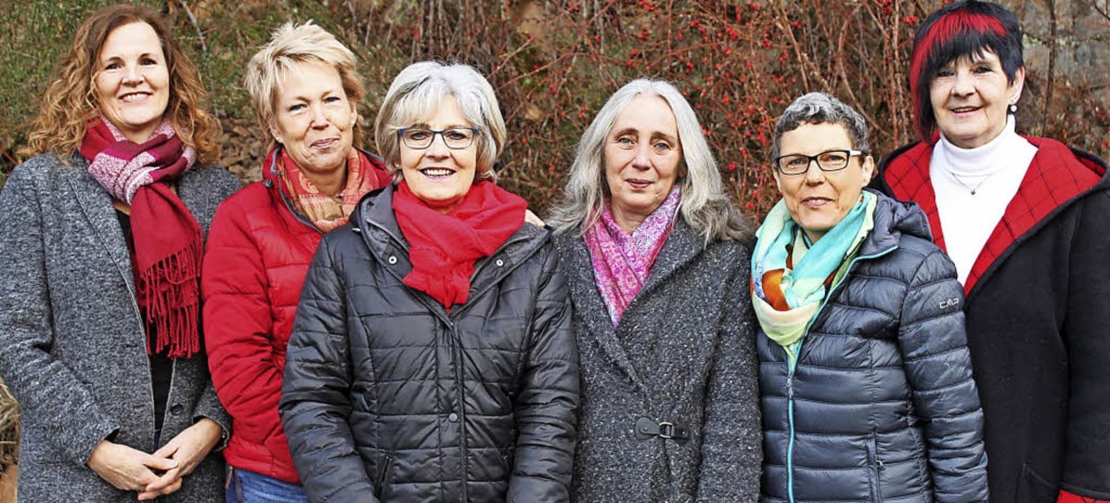 Ruth Alex, Monika Kaiser, Gertrud Flum...cheninternat des Kollegs St. Blasien.   | Foto: Cornelia Liebwein