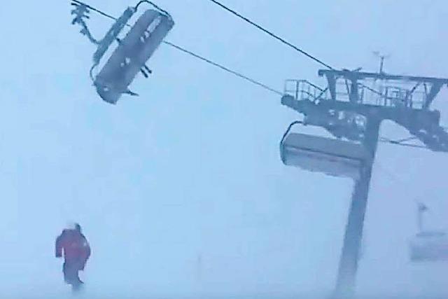 Wie ein schaukelnder Skilift zum viralen Hit wurde