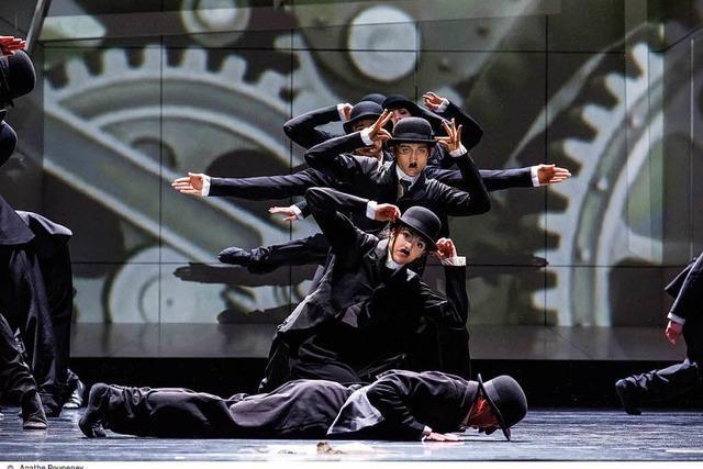 Charlie Chaplin auf der Ballettbühne in Straßburg und Mulhouse