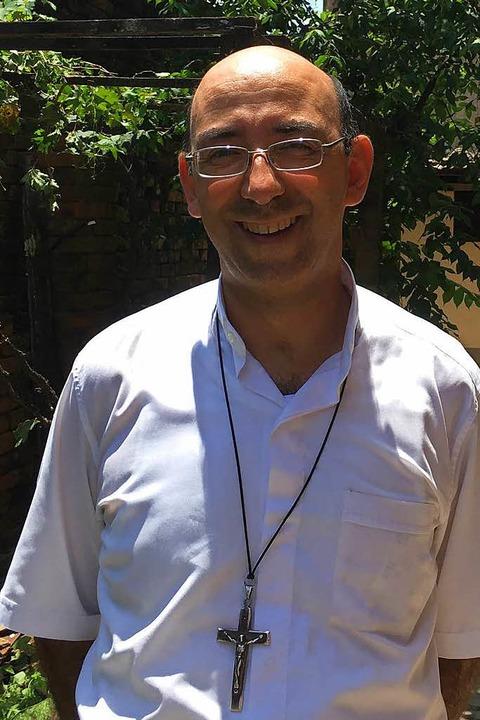 David Martínez, 47, Bischof in Puerto Maldonado  | Foto: Dominik Bloedner