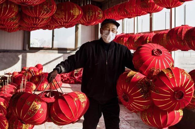 Vorbereitungen für das chinesische Neujahrsfest