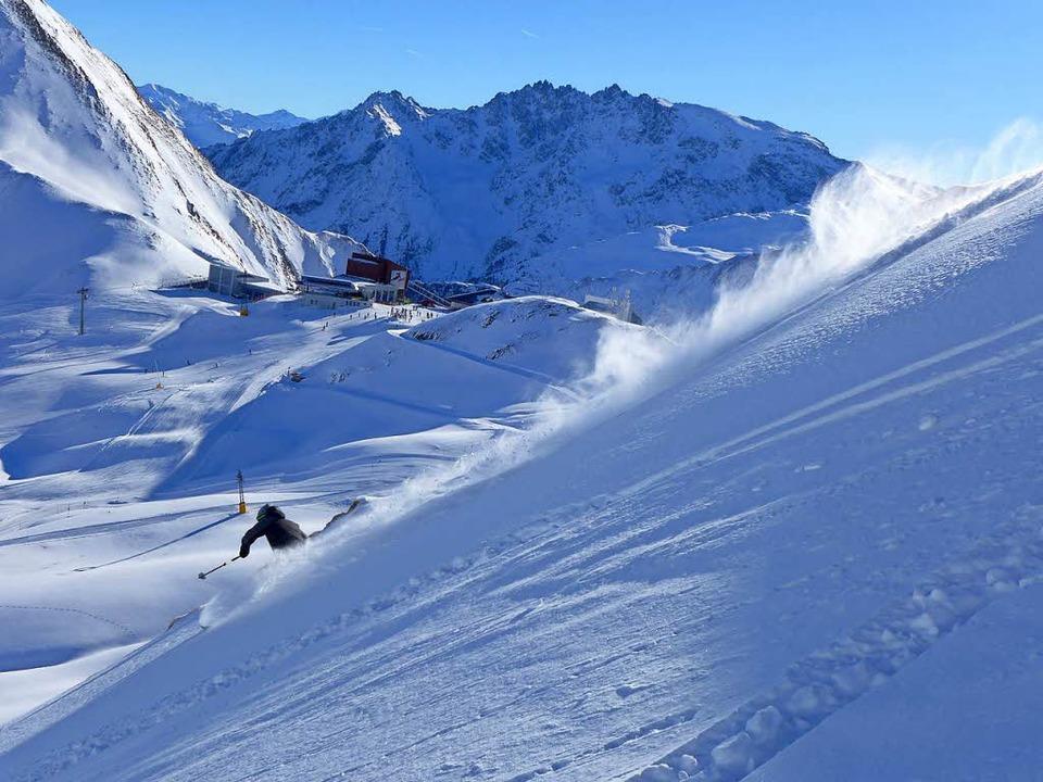 Mehr als Party: Ischgl bietet Skifahre...enge Möglichkeiten abseits der Pisten.  | Foto: Stefan Zahler