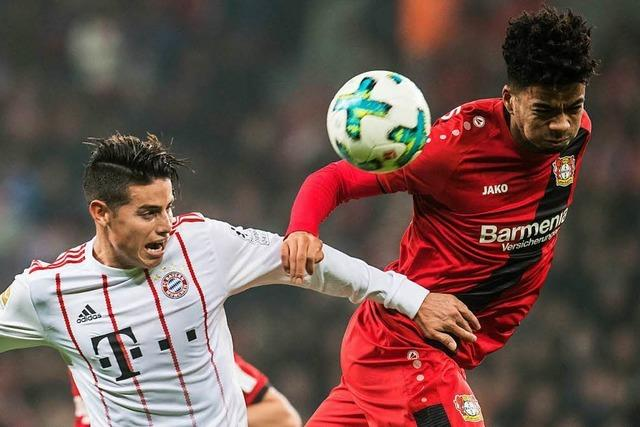 Souveräne Bayern siegen in Leverkusen
