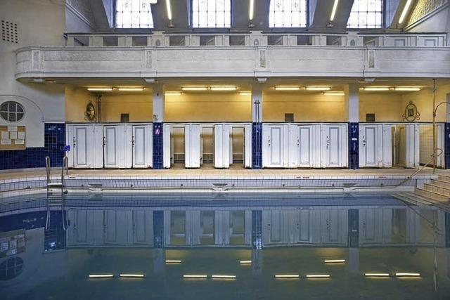 Historischer Badetempel