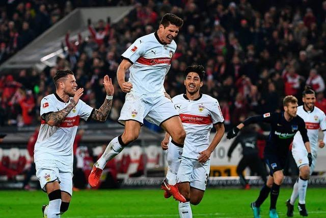 Stuttgart siegt bei Gomez-Comeback gegen Berlin