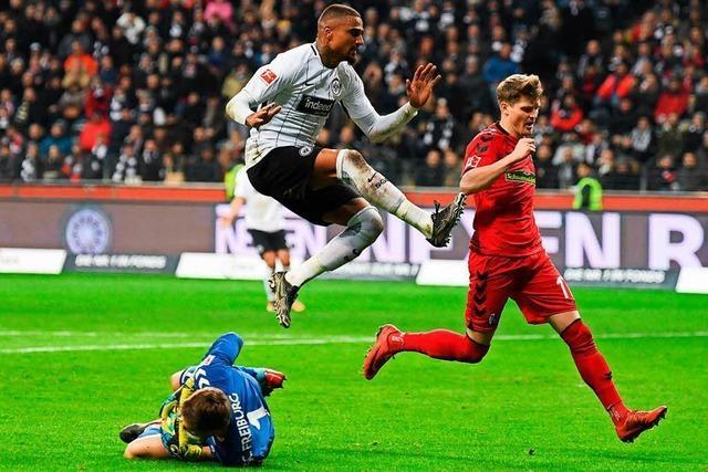 Die SC-Spieler nach dem 1:1 in Frankfurt in der Einzelkritik