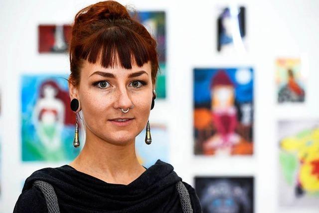 Gwendolin Widmann gibt Aktzeichnenkurse – für Jugendliche