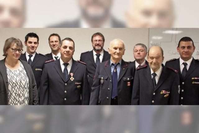Seit 70 Jahren in der Feuerwehr