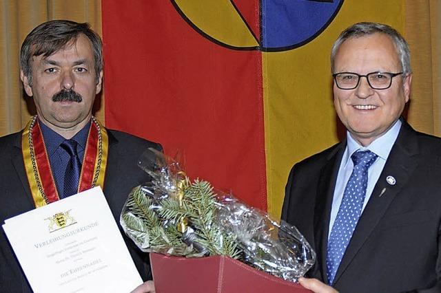Hermann und Donner geehrt