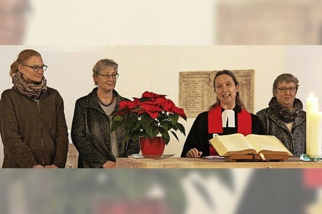 Eichstetter Protestanten begrüßen drei neue Räte