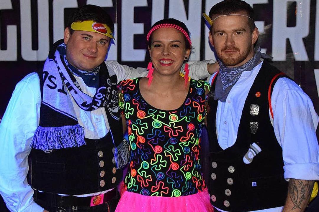 Los Crachos in der Fotobox    Foto: Ulrike Jäger