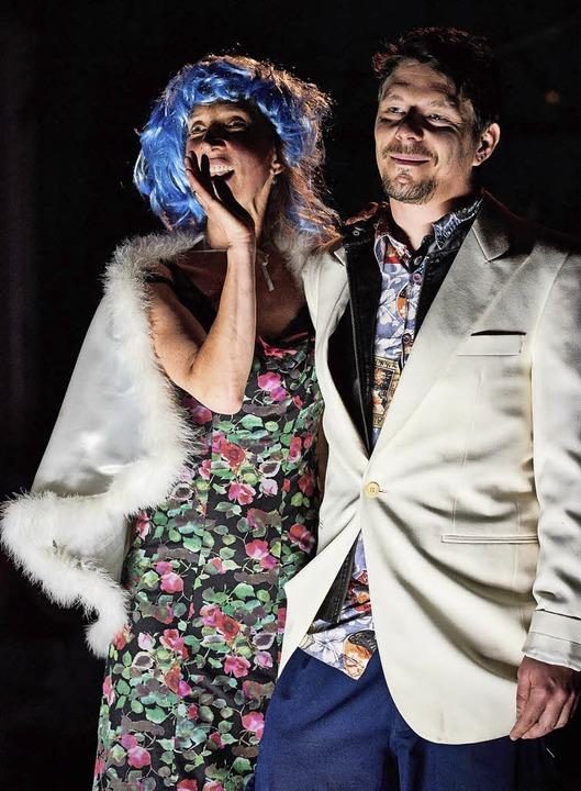 Monika Bujinski (Amanda) und Alexander Ritter (Tom)   | Foto: M. Redlhammer