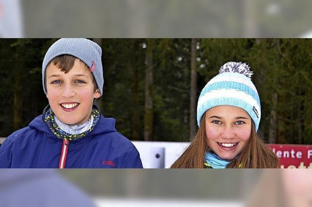 Die Biathlonstars von morgen bei der VR-Talentiade