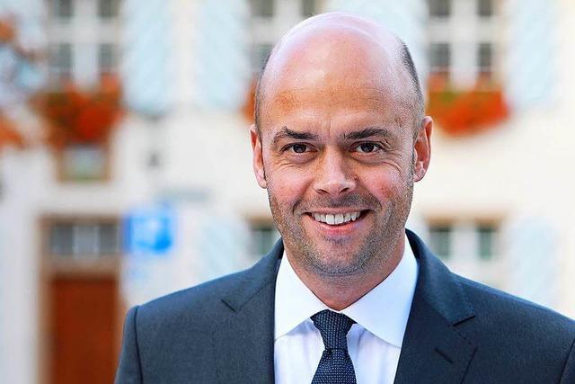 Carsten Vogelpohl wird neuer Rathauschef in Bad Bellingen