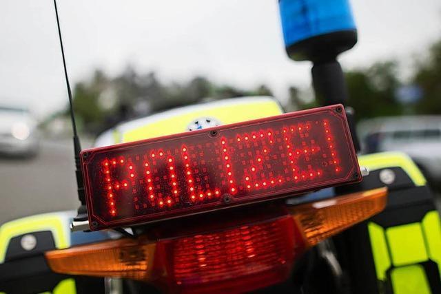Polizei nimmt berauschte Schwestern fest – beide waren Auto gefahren