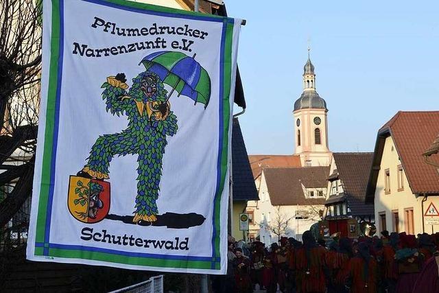 Fotos: Fasentumzug durch Schutterwald am Sonntag