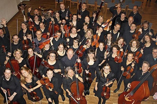 Per Tutti Orchester spielt Dvorak