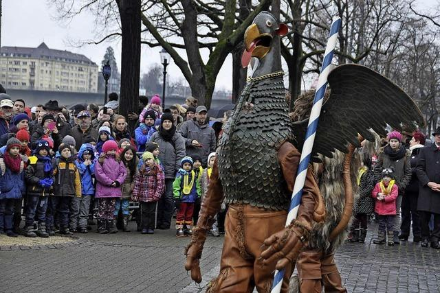 Vogel Gryff-Tag in Kleinbasel