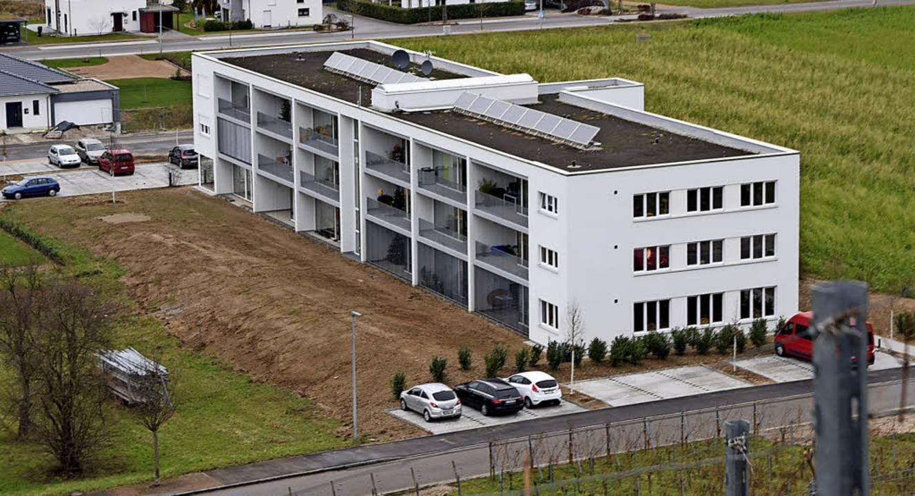 Ganz neu ist das Mehrgenerationenhaus in Auggen.     Foto: Beatrice Ehrlich