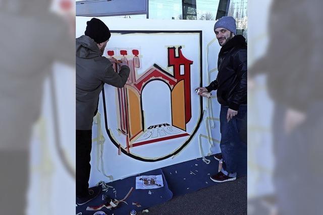 Offen für Graffiti als Kunstform
