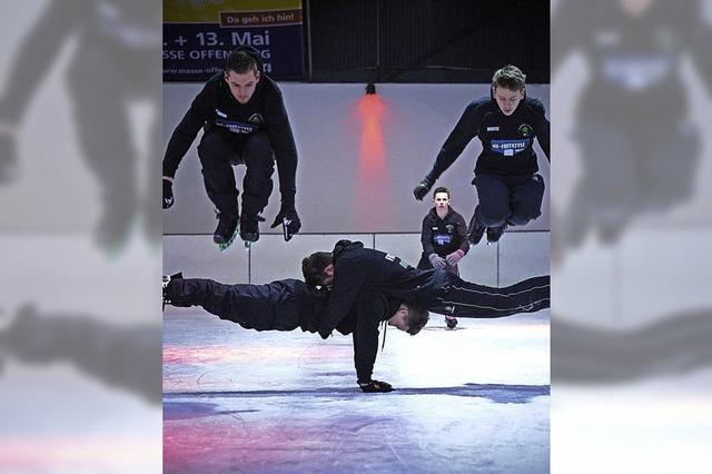 Akrobatik on Ice