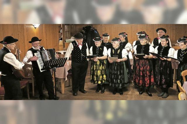 Der Trachtenverein Buchenbach löst sich auf