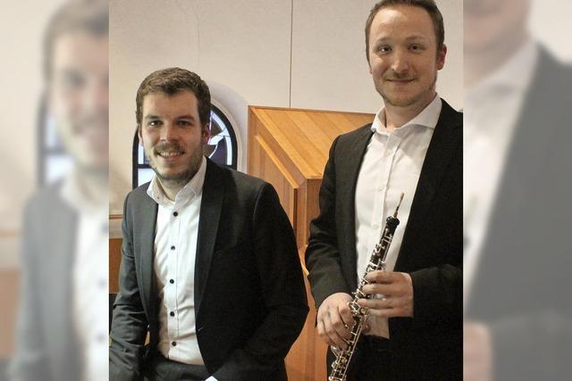 Der Tanz von Orgel und Oboe