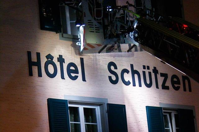 Brand im ehemaligen Gasthaus Schützen – 24-Jähriger festgenommen