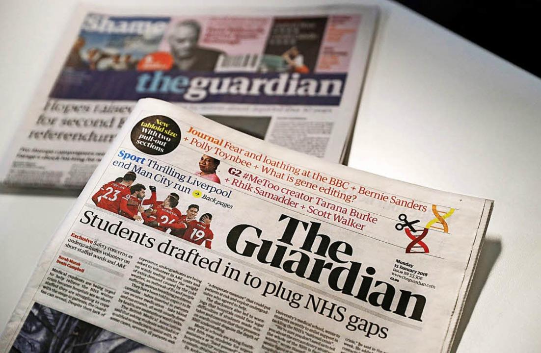 im Vordergrund: der neue Guardian   | Foto: AFP