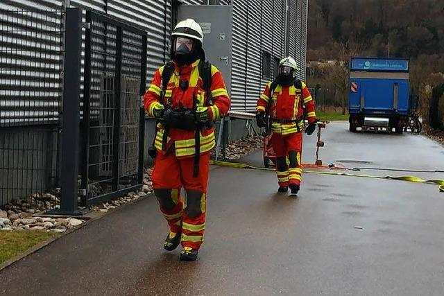 Starke Rauchentwicklung bei Geiger-Textil ruft Feuerwehr auf den Plan