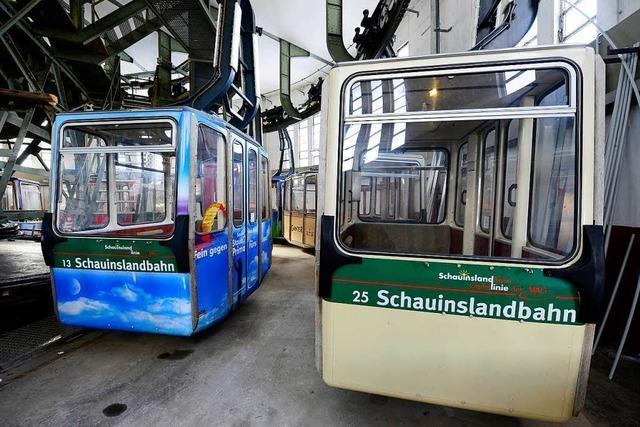 Die Schauinslandbahn fährt wegen Sturm nicht
