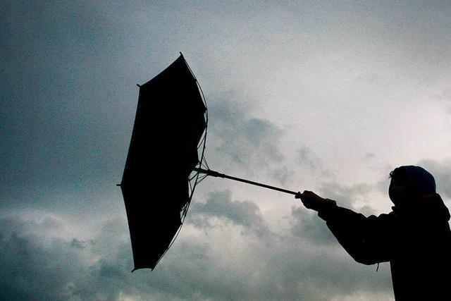 Sturmböen halten Polizei in der Ortenau auf Trab