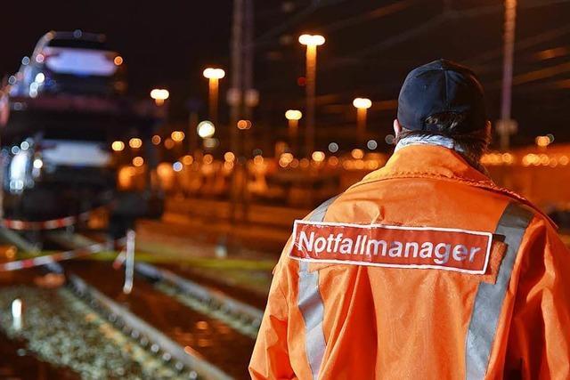 Bahn will Krisenmanagement bei Gefahrguteinsätzen im Landkreis Lörrach verbessern
