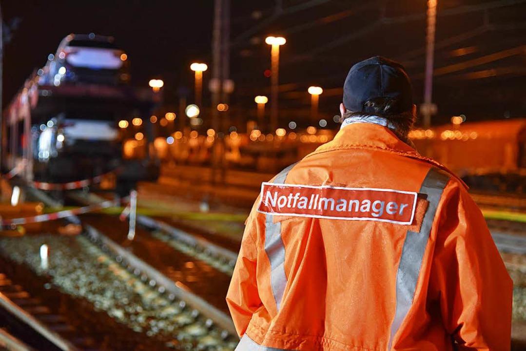 Die Bahn will ihr Notfallmanagement be...s in einer Mitteilung des Landkreises.    Foto: Martin Eckert