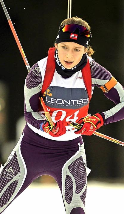 Erreichte eine Top-Zehn-Platzierung be...hfilzen: Marita Wunderle vom SC Wieden  | Foto: Patrick Seeger