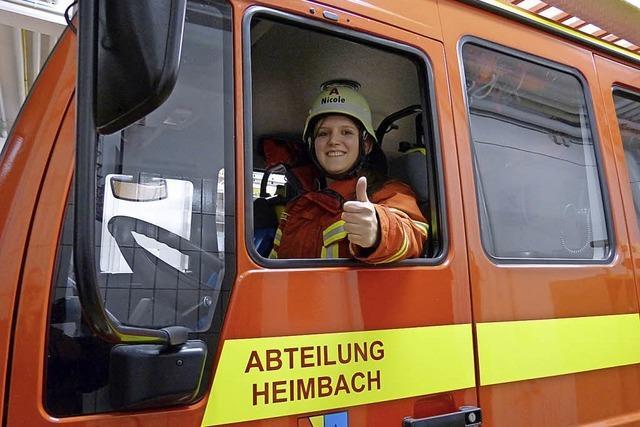 Ein ruhiges Jahr für die Heimbacher Feuerwehr
