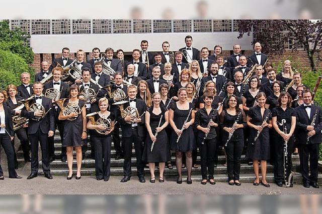 Stadtmusik Staufen in der Belchenhalle