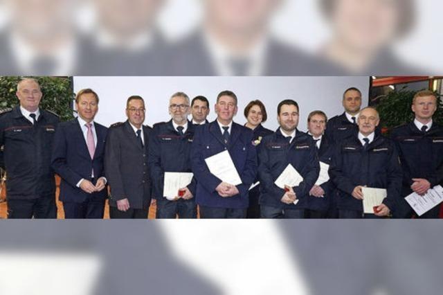 Feuerwehr leistet 2017 mehr als 200 Einsätze