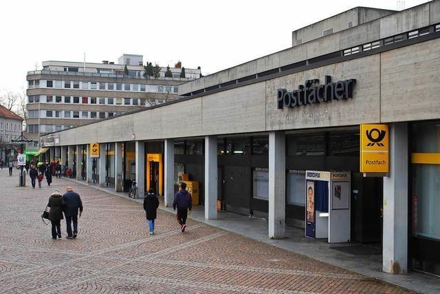 Die Tage des Lörracher Postgebäudes sind gezählt