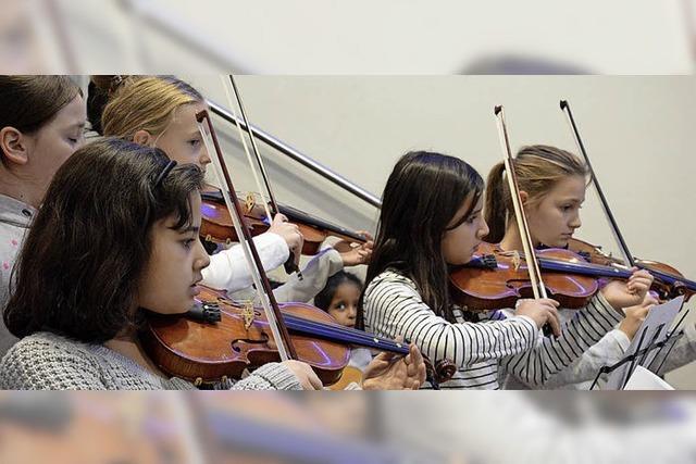 Junge Talente messen sich
