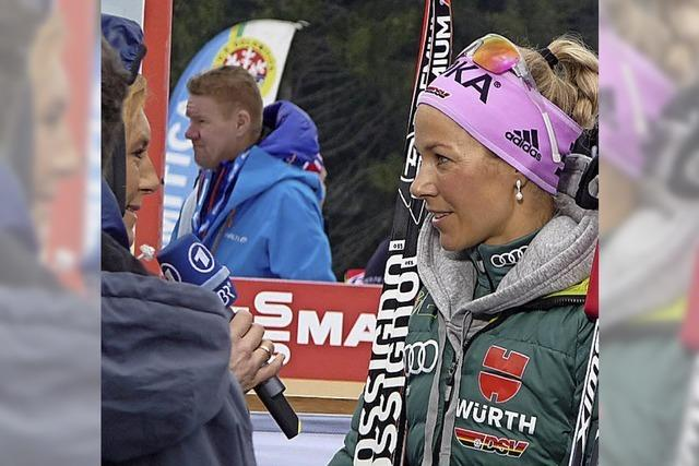 Steffi Böhler bei Olympia